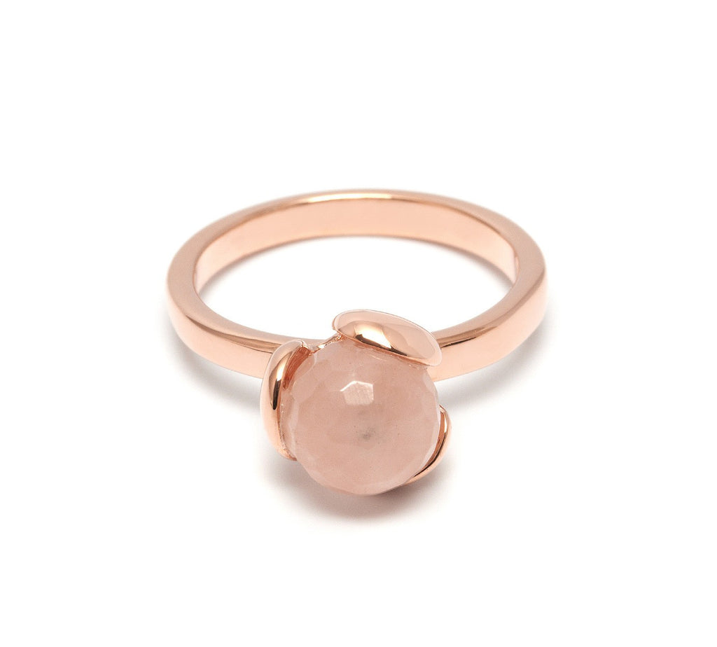 Lola Rose Boutique Bettina Ring - Rose Quartz