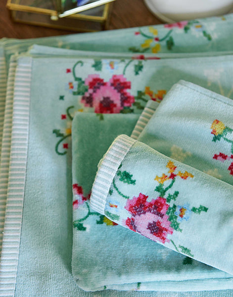 PiP Studio Granny Pip Towel Collection - Green