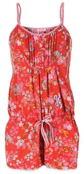 PiP Studio Chinese Blossom Jumpsuit - Red