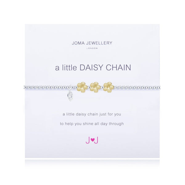 Joma Jewellery A Little Daisy Chain Bracelet
