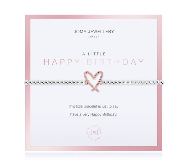 Joma Jewellery - A Little Happy Birthday Bracelet - Boxed