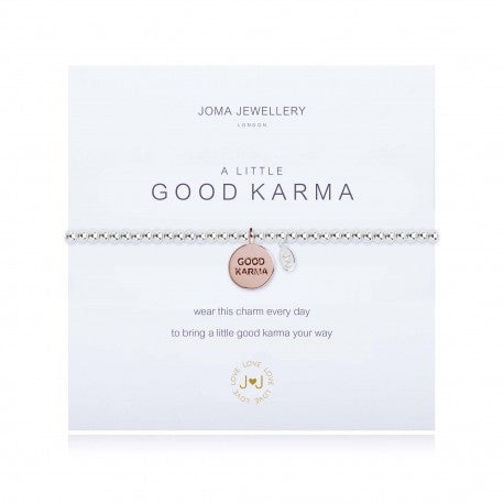 Joma Jewellery A Little Good Karma Bracelet