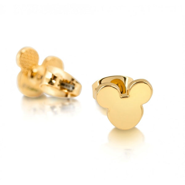 Disney Couture Gold Mickey Mouse Stud Earrings