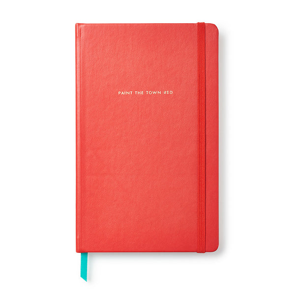 Kate Spade New York Take Note Large Notebook - Paint the Town Red