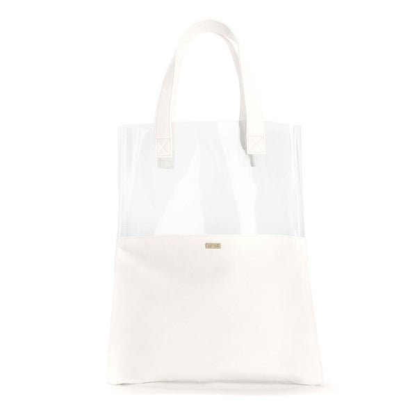 Ban.do Peekaboo Tote Bag - White