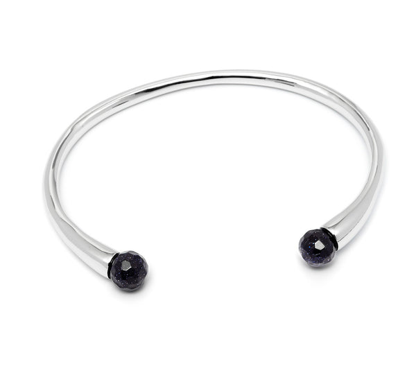 Lola Rose Boutique Cornelia Adjustable Bracelet - Blue Sandstone