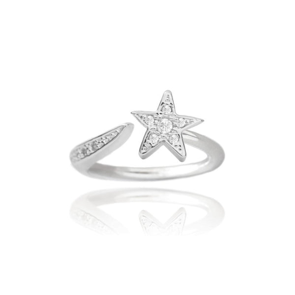 Joma Jewellery Shooting Star Ring