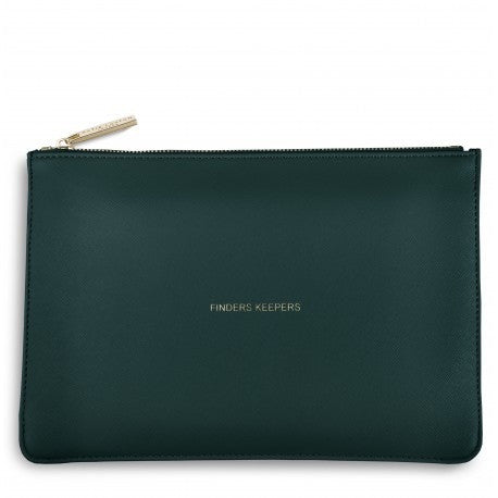 Katie Loxton Perfect Pouch - Finders Keepers (Teal)