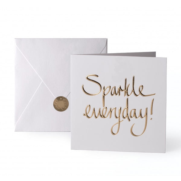 Katie Loxton Greetings Card - Sparkle Everyday