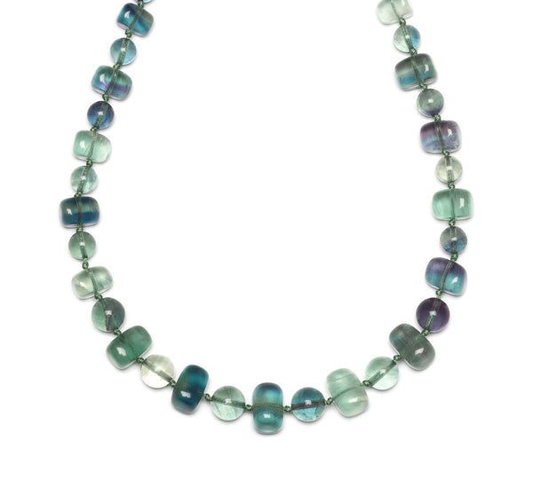 Lola Rose Mobi Necklace - Emerald Green Fluorite