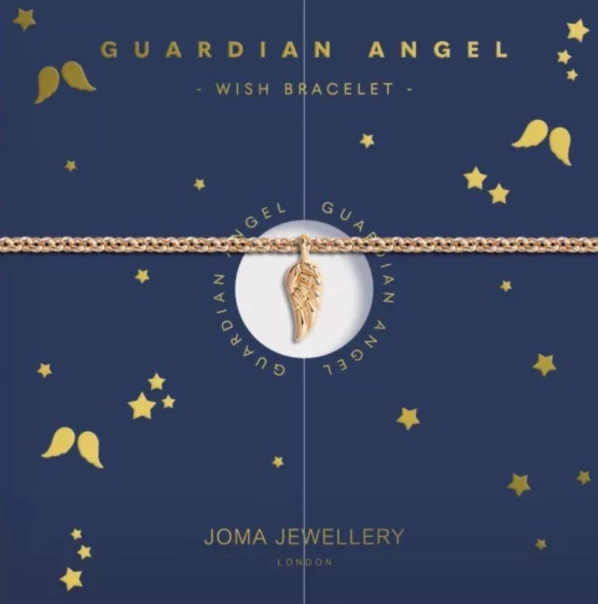 Joma Jewellery Guardian Angel Wish Bracelet