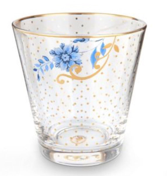 PiP Studio Royal Water Glass Golden Dots