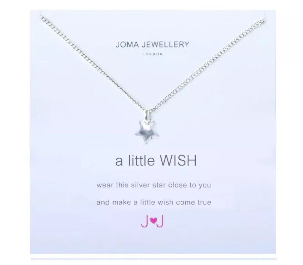 Joma Jewellery Girls A Little Wish Necklace