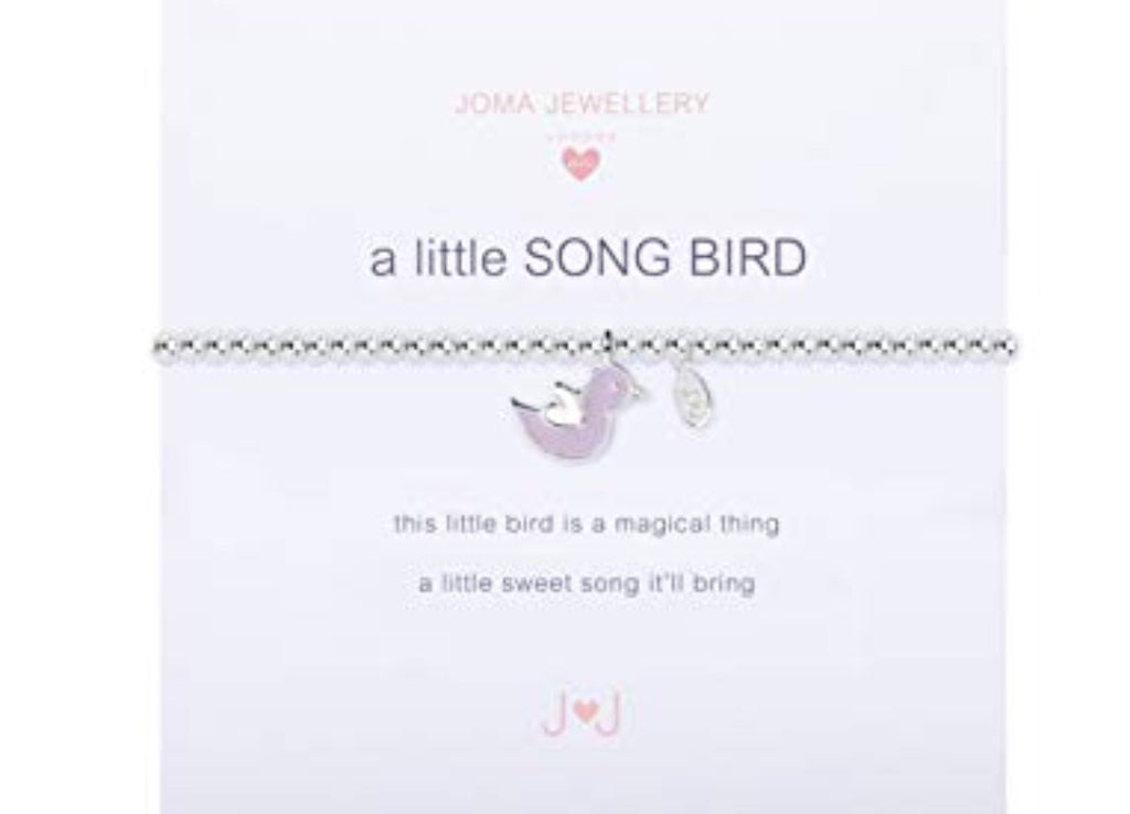 Joma Jewellery Girls A Little Song Bird