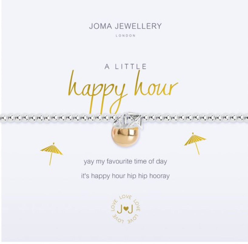 Joma Jewellery A Little Happy Hour Bracelet