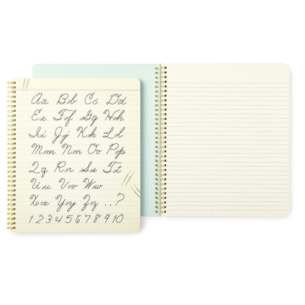 Kate Spade New York Large Spiral Notebook - Dot Your I's