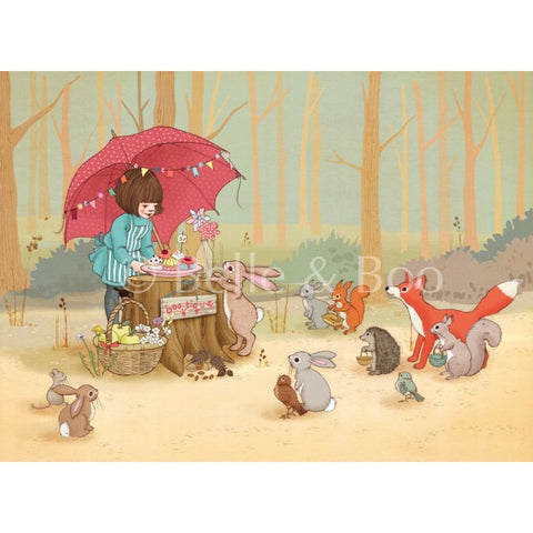 "Belle & Boo Let's Play Shop 16 x 20"" Framed Art Print (Signed)"