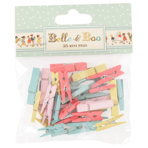 Belle & Boo Mini Pegs