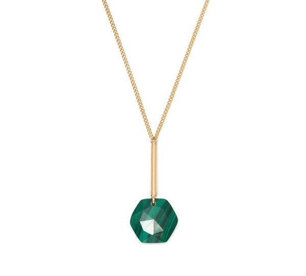 Lola Rose Boutique Montrose Necklace - Malachite