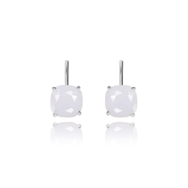 Joma Jewellery Nellie Earrings - Moonstone Crystal