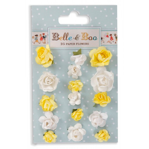 Belle & Boo Paper Flowers