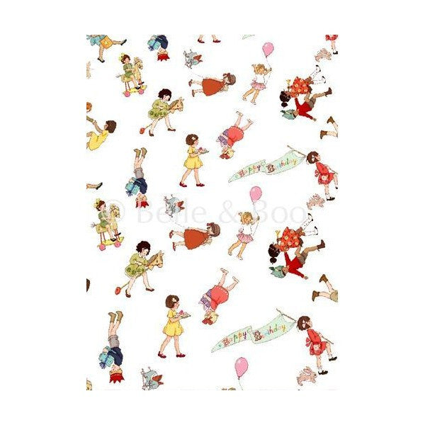 Belle & Boo Party Parade Gift Wrap
