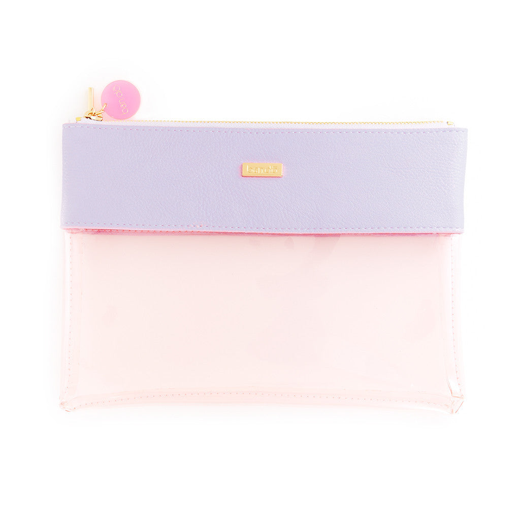 Ban.do Peekaboo Clutch - Lilac & Blush