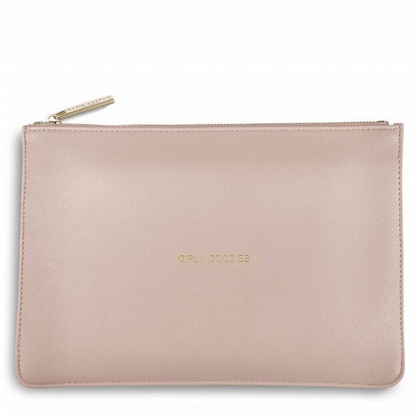 Katie Loxton Perfect Pouch - Girly Goodies (Pale Pink)