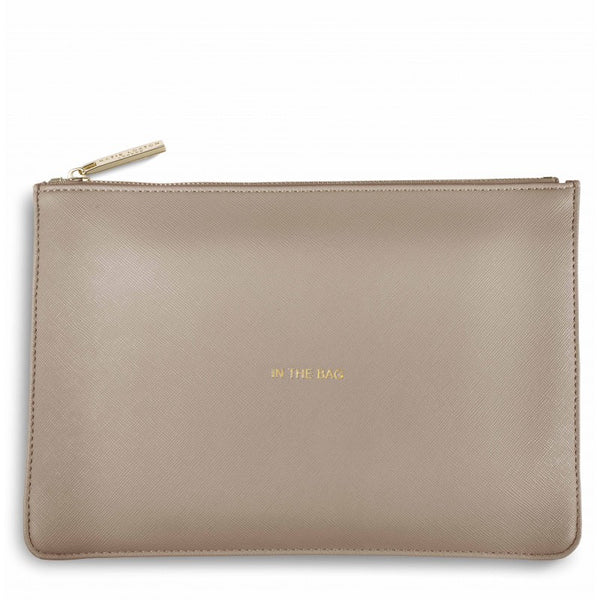 Katie Loxton Perfect Pouch - In The Bag (Grey)