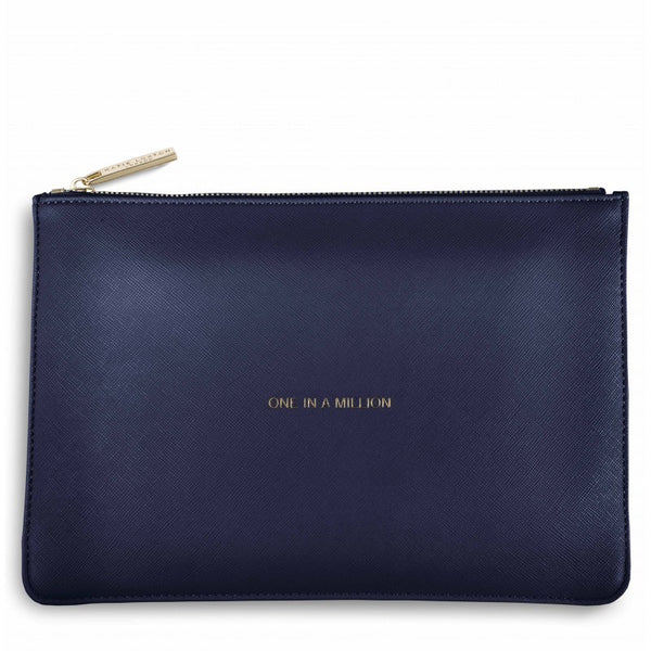 Katie Loxton Perfect Pouch - One in a Million (Navy)