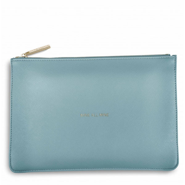 Katie Loxton Perfect Pouch - Mine All Mine (Teal)