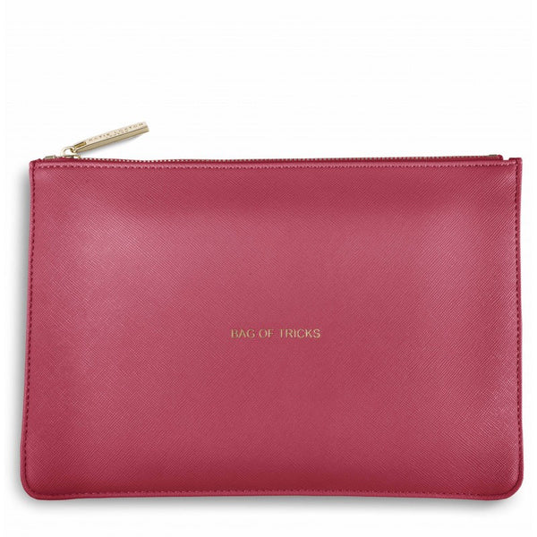Katie Loxton Perfect Pouch - Bag of Tricks (Deep Pink)