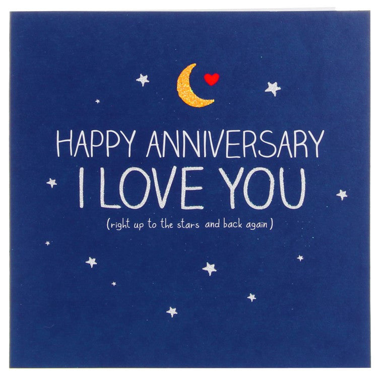 Happy Jackson Happy Anniversary I Love You Card