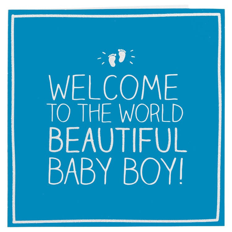 783fb7c1d Happy Jackson Beautiful Baby Boy Card – The Lovely Room