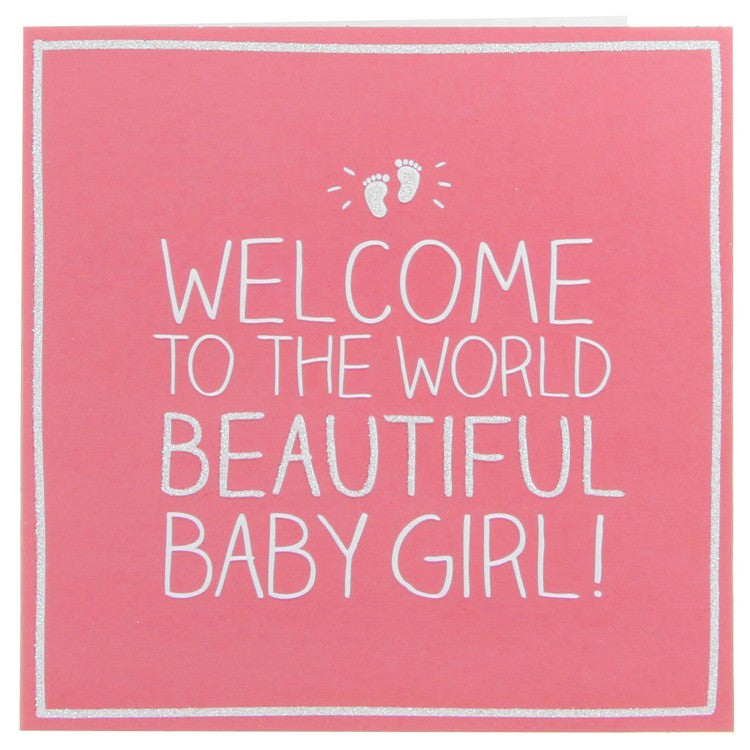Happy Jackson Beautiful Baby Girl Card