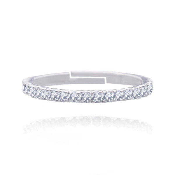 Joma Jewellery Pippa Eternity Ring - Crystal