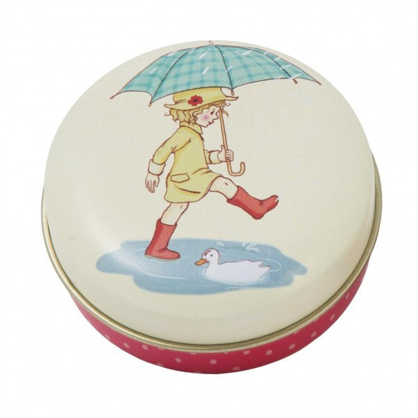 Belle & Boo Pocket Tin - Poppy's Puddles