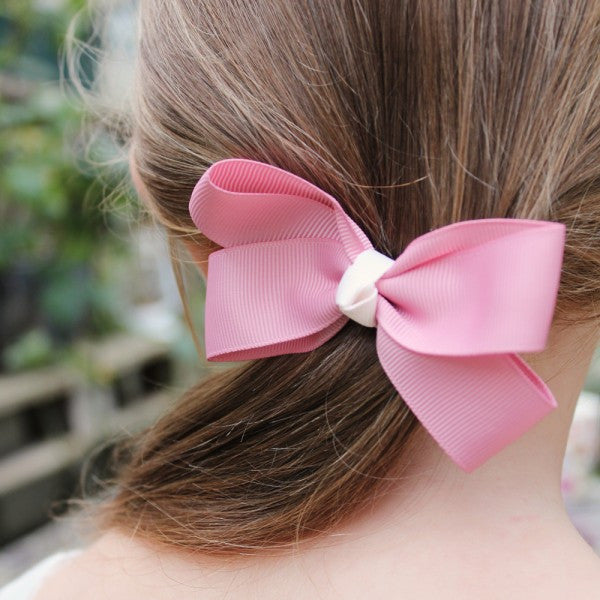 Belle & Boo Pretty Hair Clips - Dusty Pink