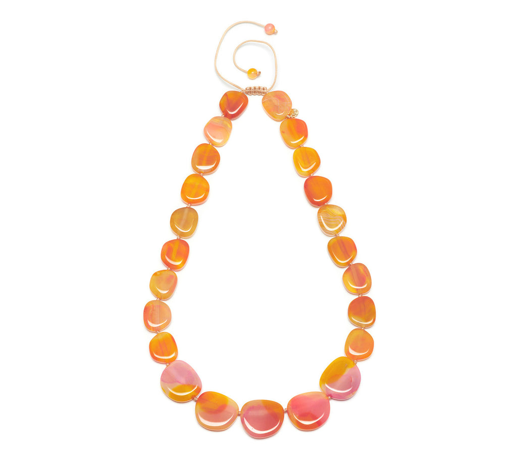 Lola Rose Quentin Necklace - Sunrise Montana Agate