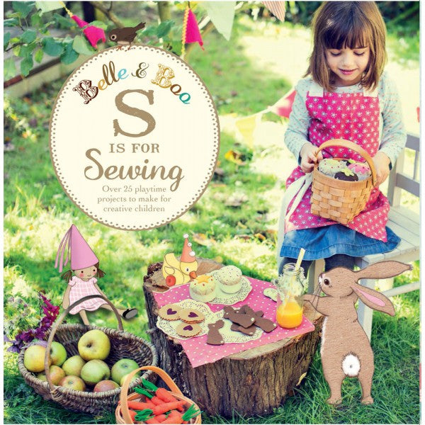 Belle & Boo 'S is for Sewing' Craft Book (Paperback)