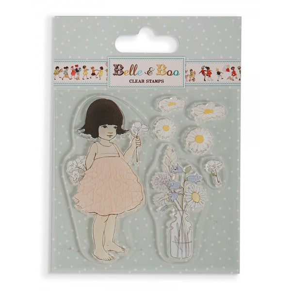 Belle & Boo Clear Stamp - Sofia