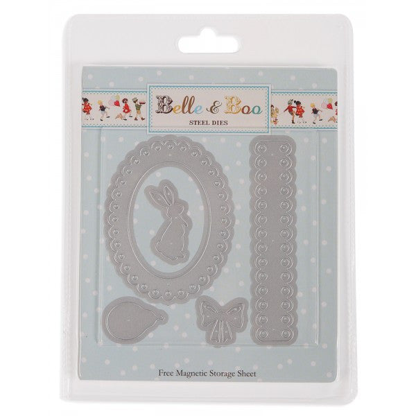 Belle & Boo Steel Die Kit