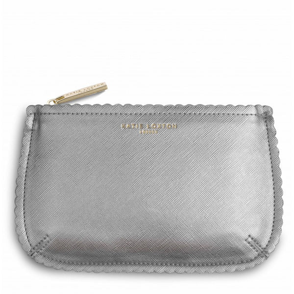 Katie Loxton The Beauty Bag - Silver
