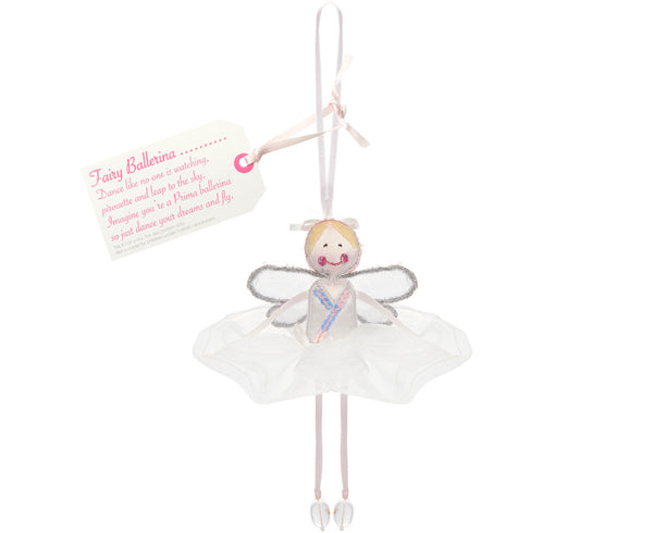 Fairy Ballerina - White