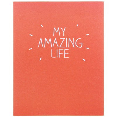 Happy Jackson My Amazing Life Large Jotter