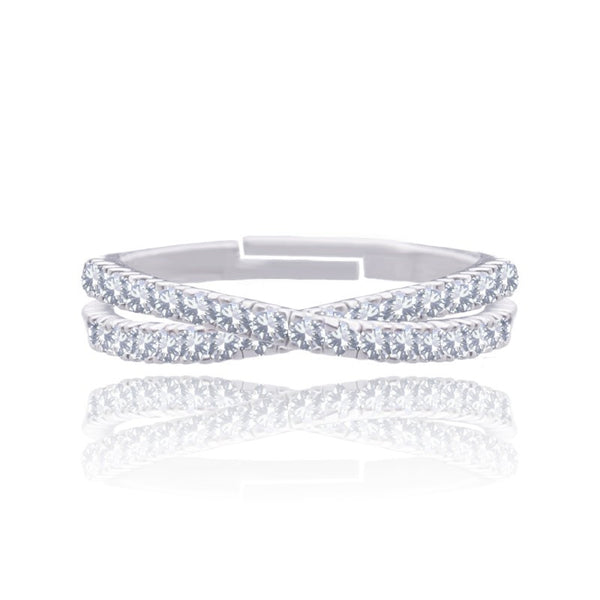 Joma Jewellery Willow Ring - Silver