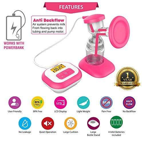 Trumom USA Elite Electric Breast Feeding Pump.