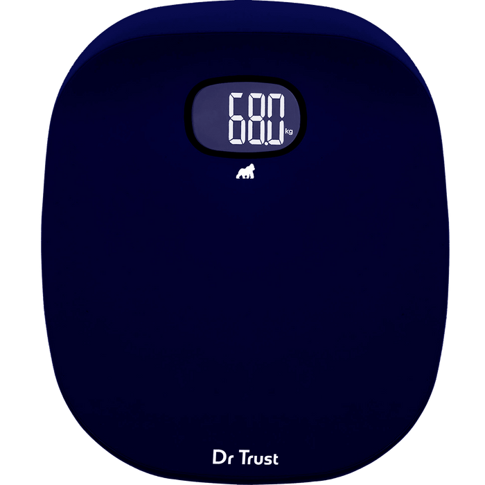 Dr Trust USA ABS Absolute Personal Scale (Blue) Weighing Machine.