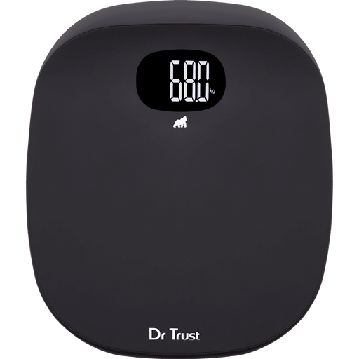 Dr Trust Weighing Scale Dr Trust USA ABS Absolute Personal Scale (Grey) Weighing Machine