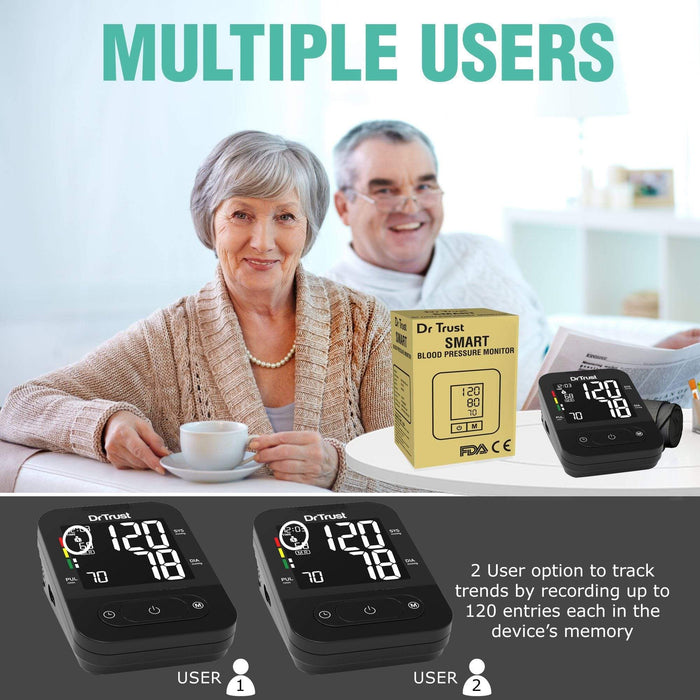 Dr Trust Dr Trust USA BP Smart (Non MDI with Adaptor) Blood Pressure Monitor